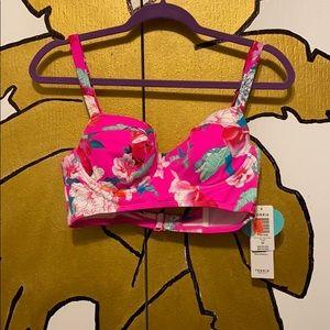 Hot pink Bikini top